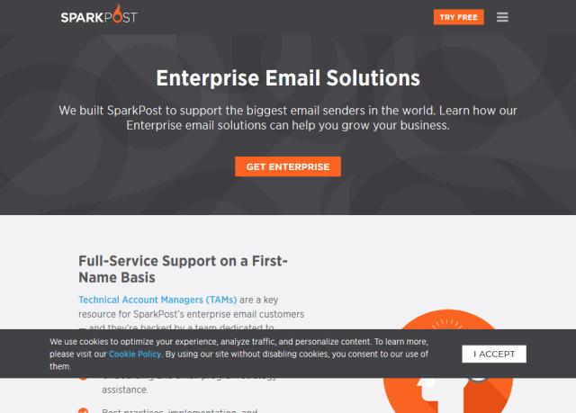 Sparkpost Enterprise API