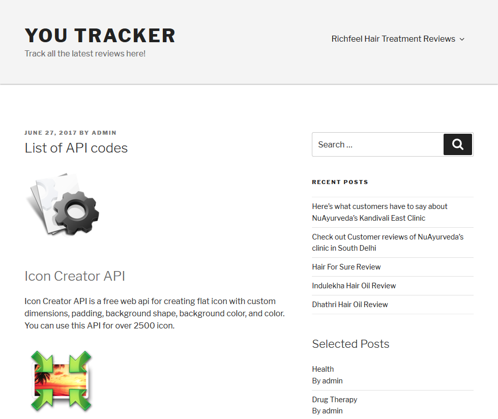 YouTracker Icon Creator API