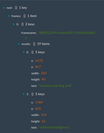 SemaMediaData API - OCR API