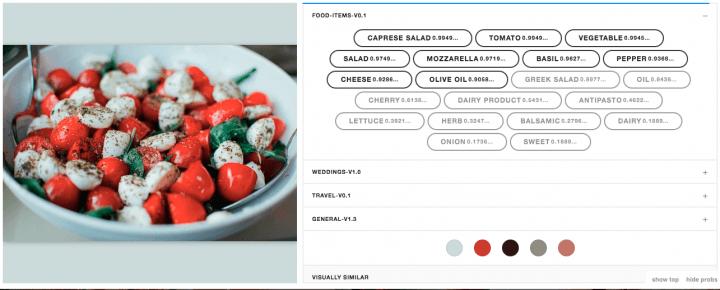 clarifai-food-recognition-model