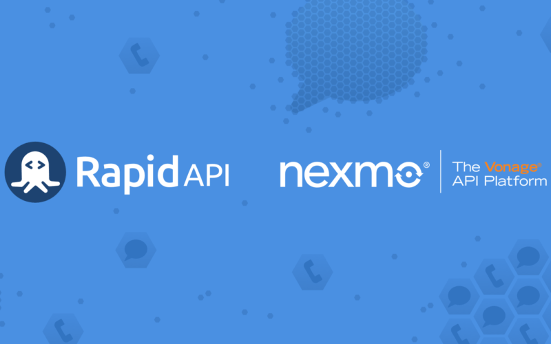 Welcoming the Nexmo SMS Verify & Number Insight APIs to RapidAPI
