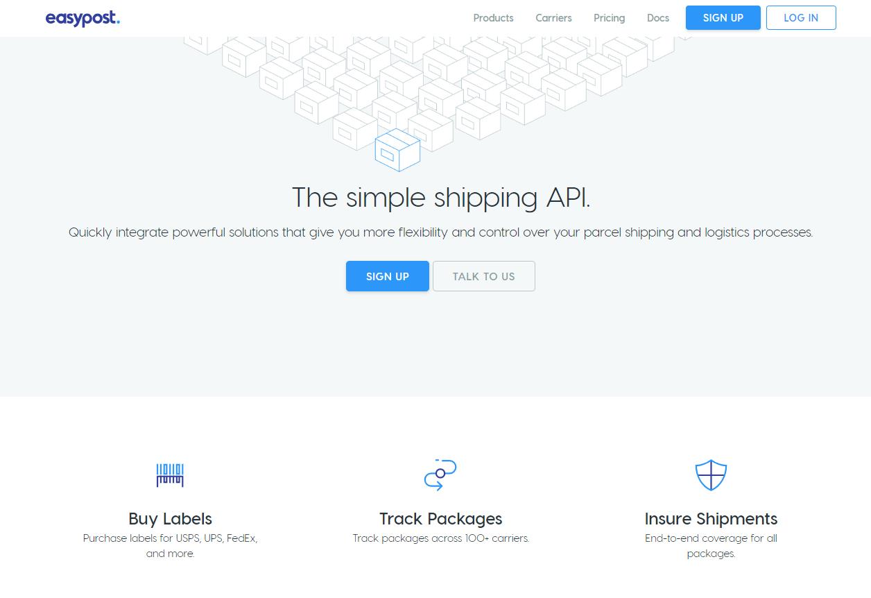 EasyPost Tracking API on RapidAPI.com