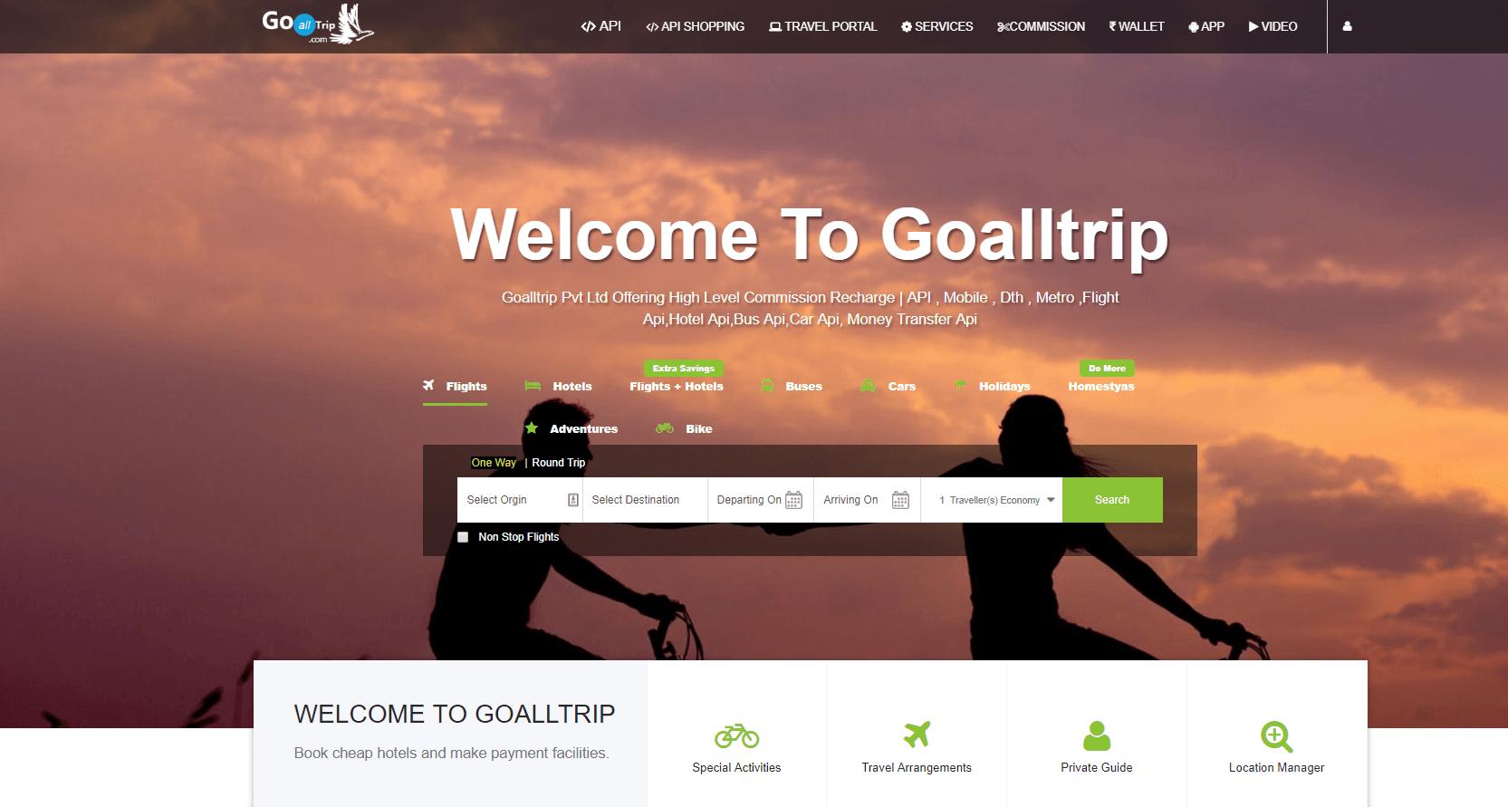 goalltrip API on RapidAPI