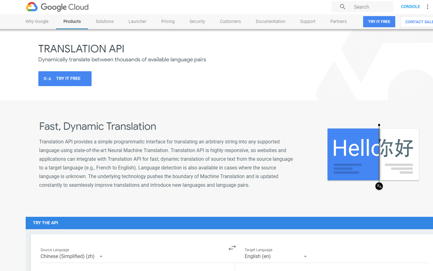 Google Translate API on RapidAPI