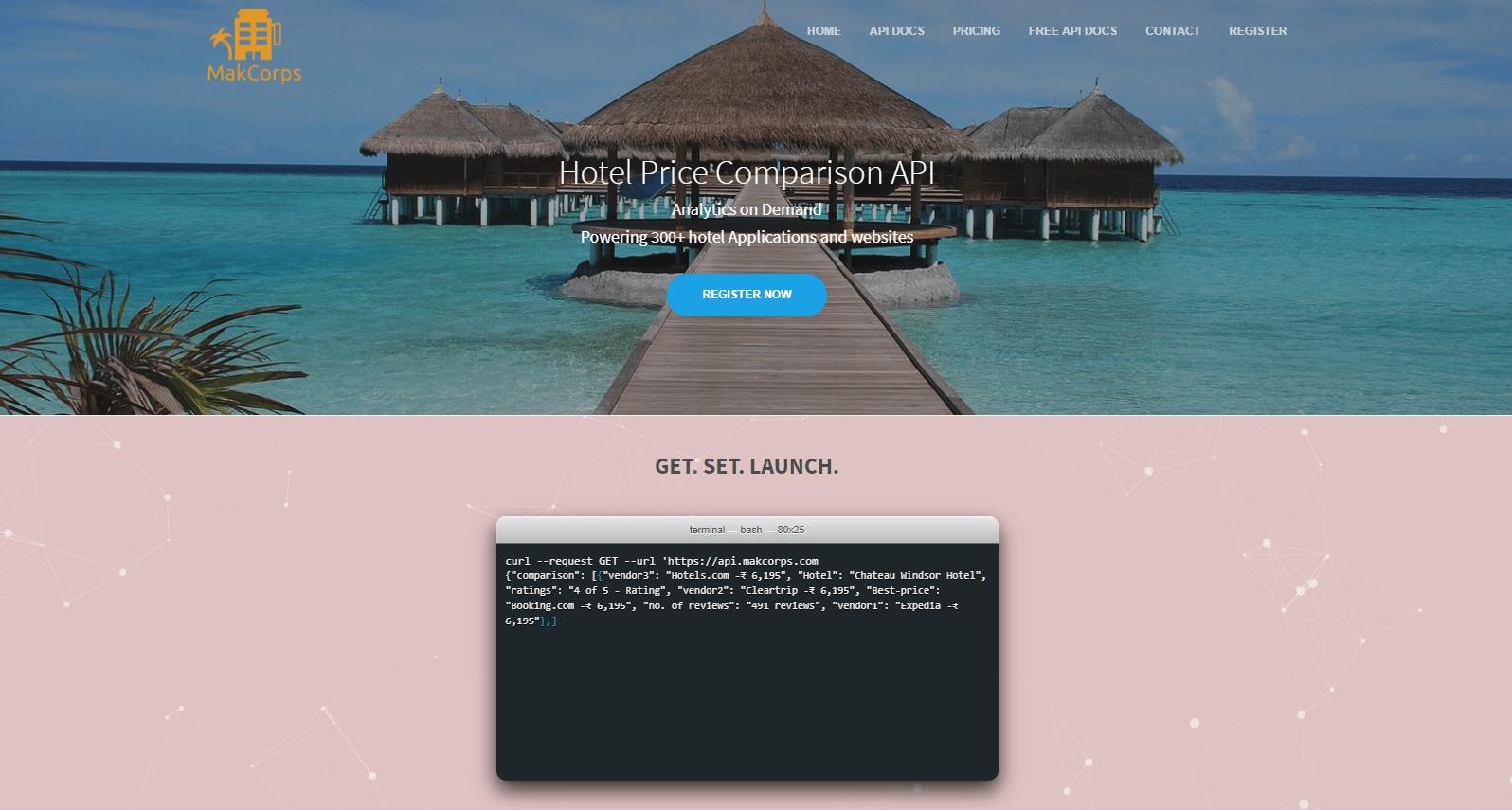 MakCorps API