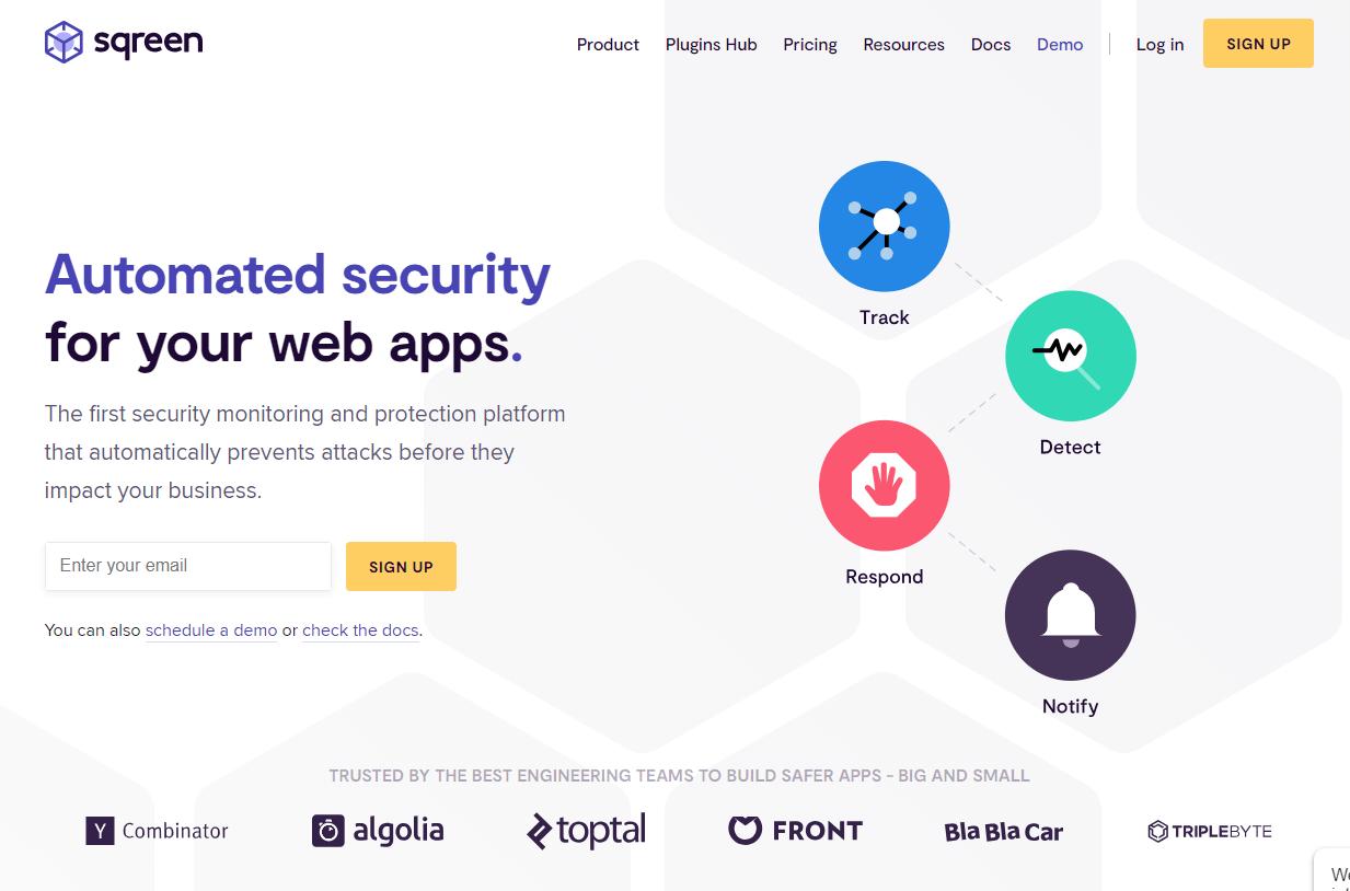 Sqreen API