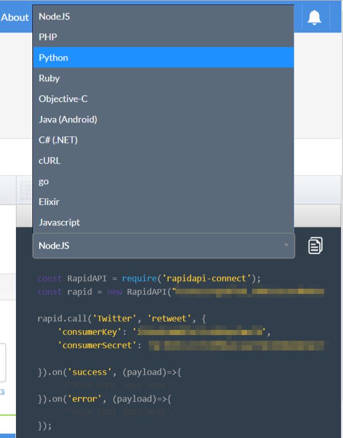 Twitter API Python