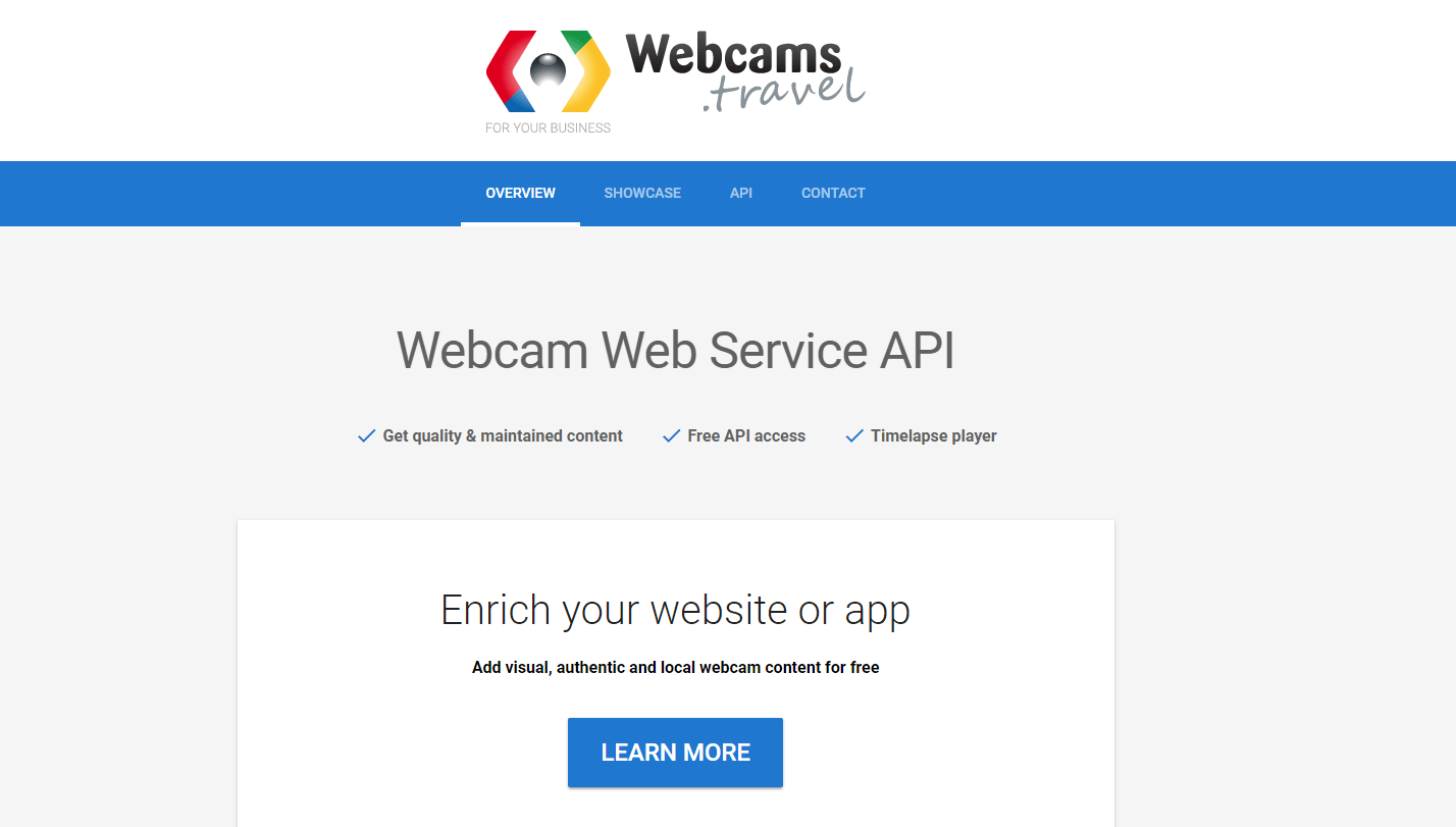 webcams.travel API Documentation