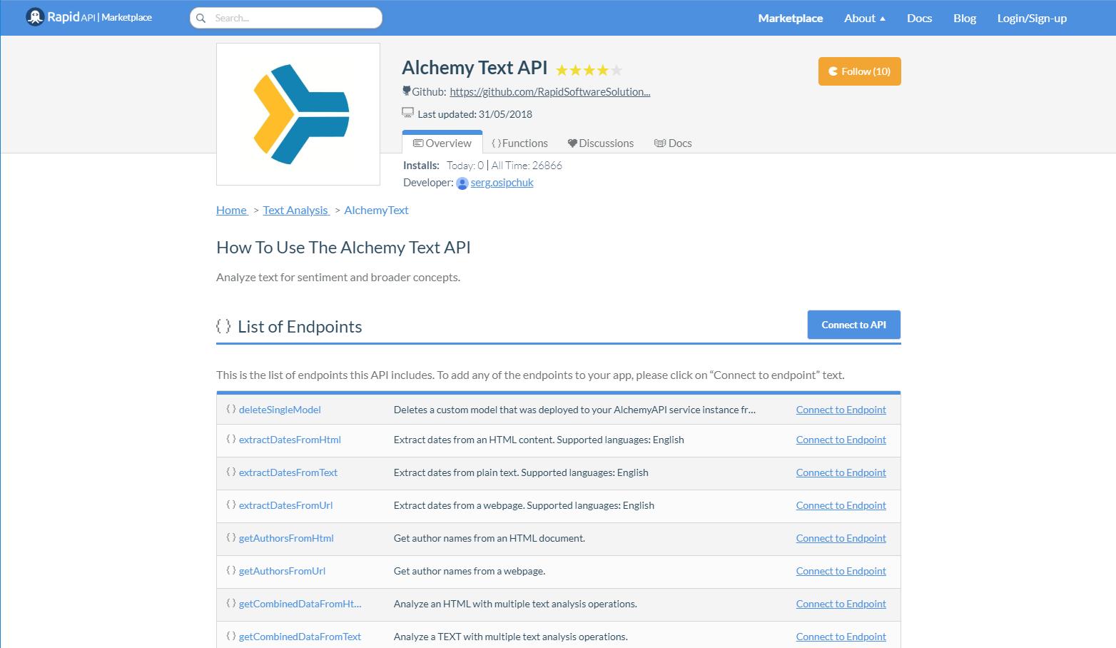 Top 22 NLP (Natural Language Processing) APIs in 2018   RapidAPI