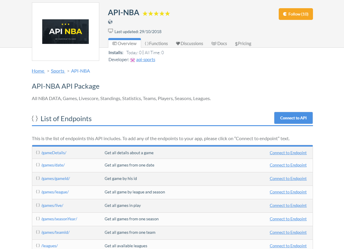 Top 50 Most Popular APIs on RapidAPI (Updated for 2019