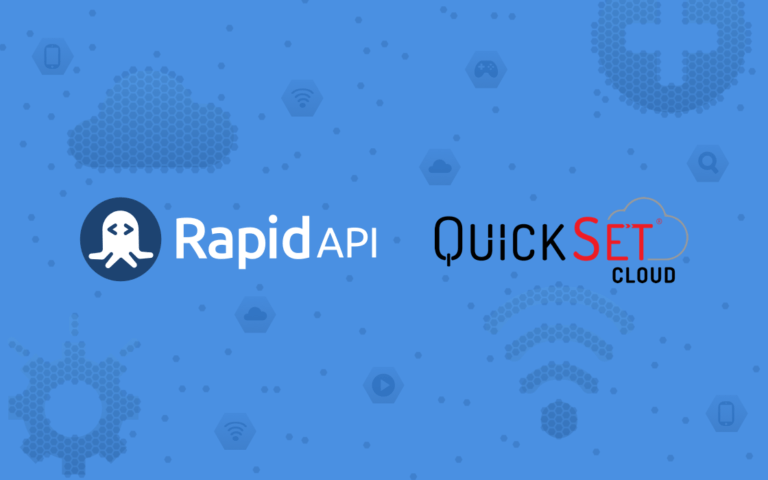 QuickSet Cloud RapidAPI Header Image