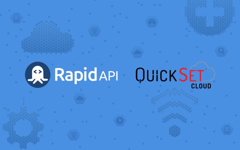QuickSet Cloud RapidAPI Header Image