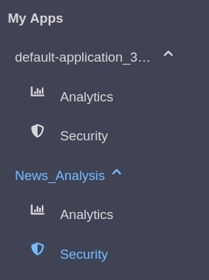 RapidAPI Dashboard My Apps Section