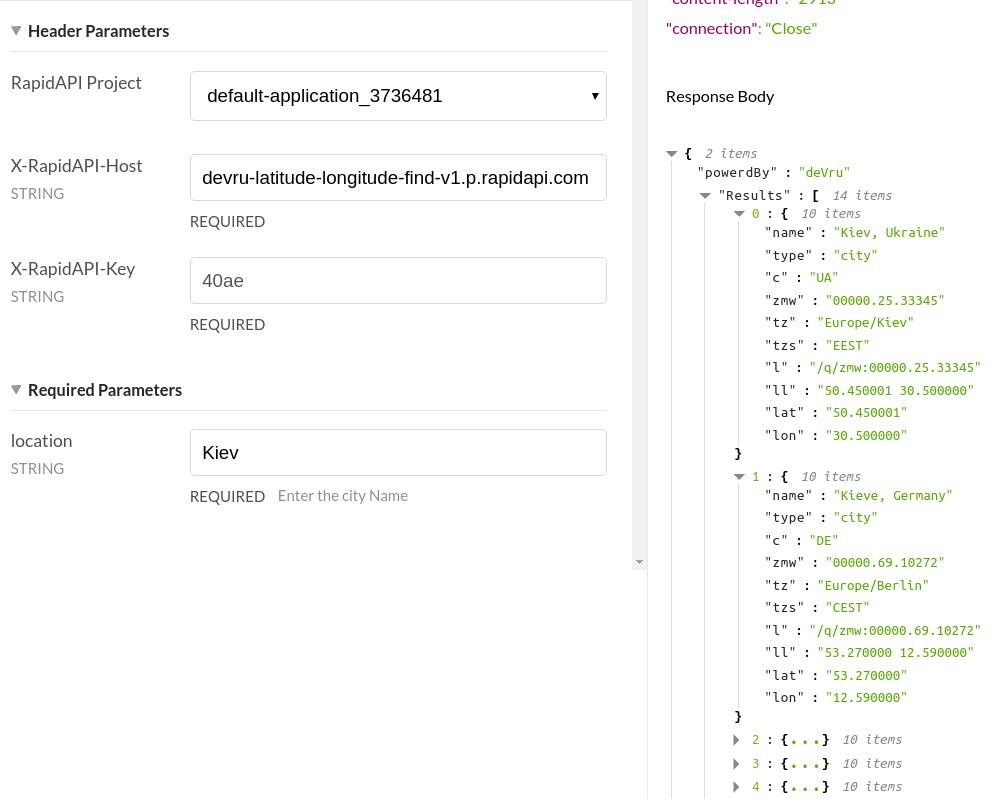 Dark Sky API Platform