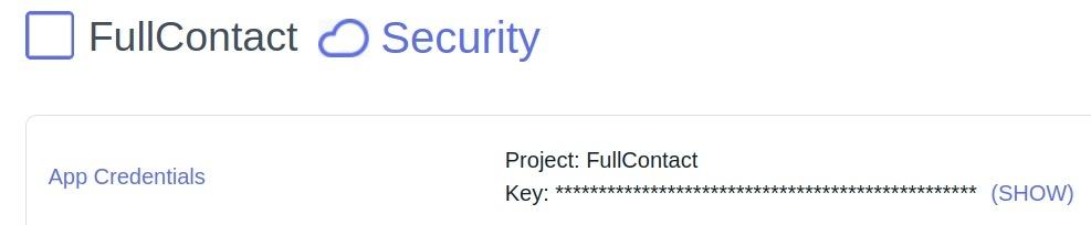 FullContact API Key RapidAPI