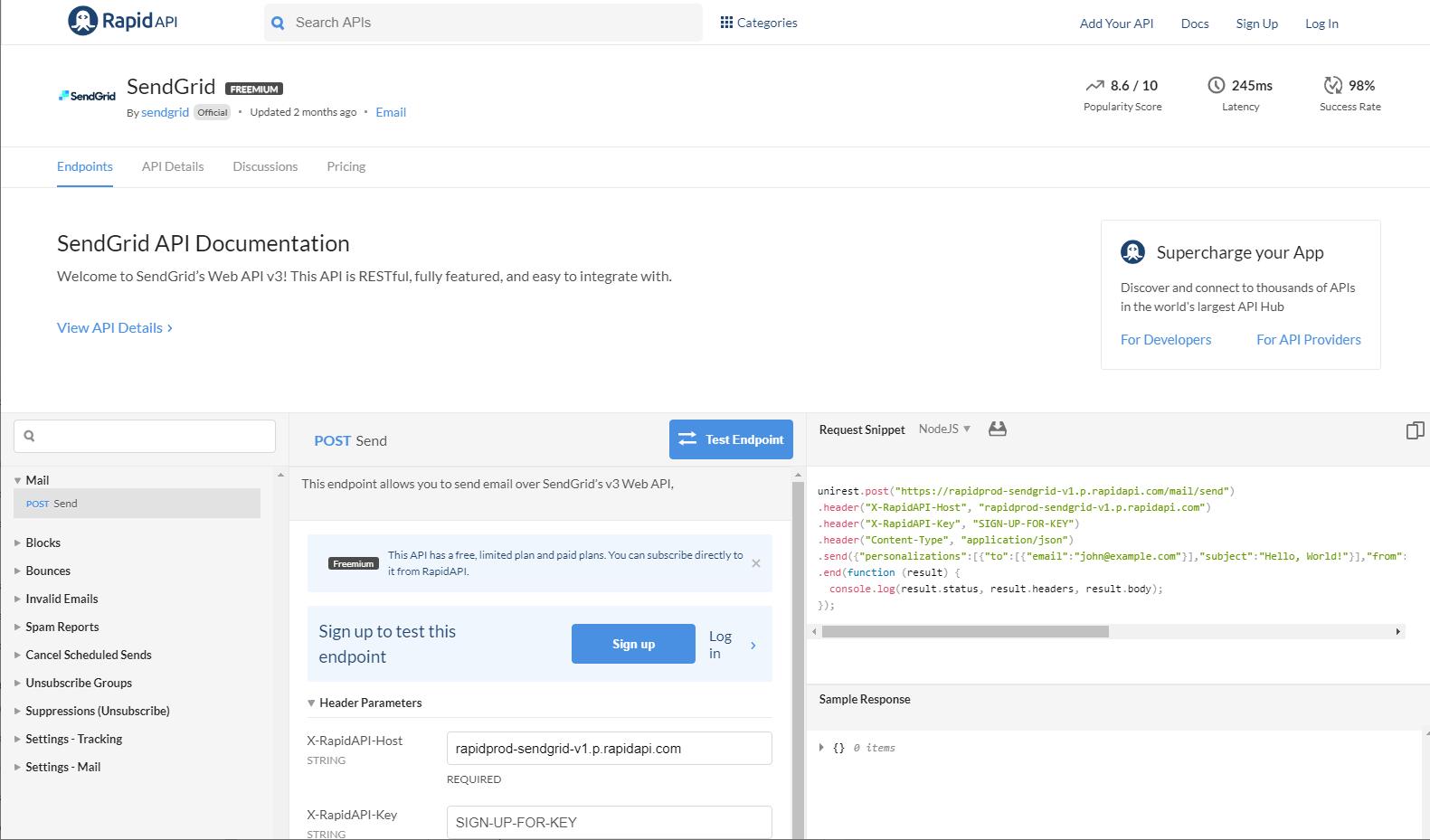 How to Use the SendGrid API (w/ Ruby) [2019] | RapidAPI
