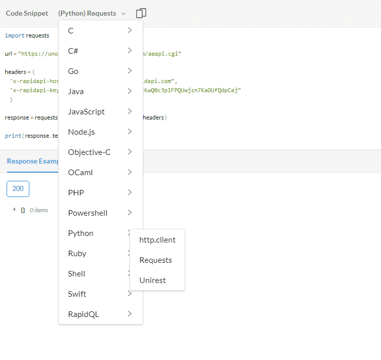uNoGS Netflix API Python