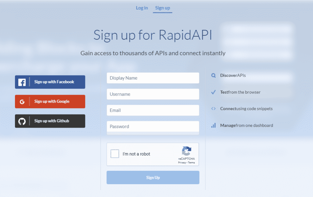 RapidAPI Free API Key
