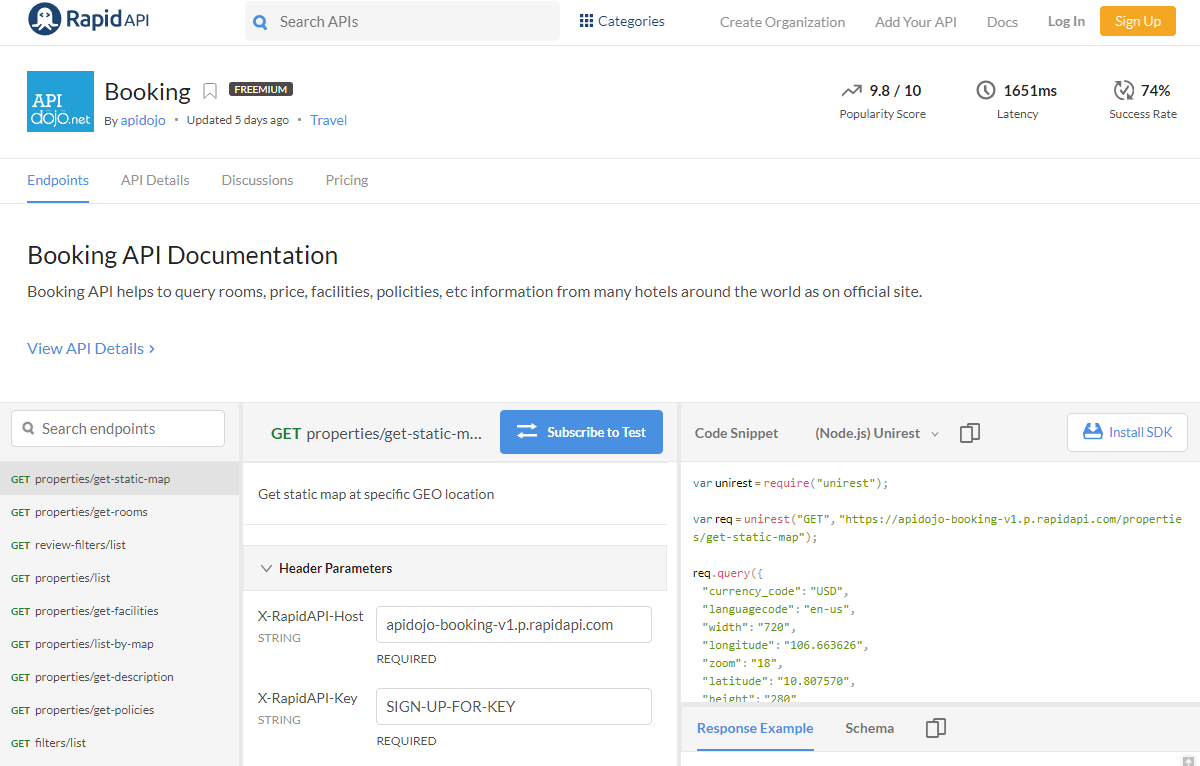 Booking API Documentation