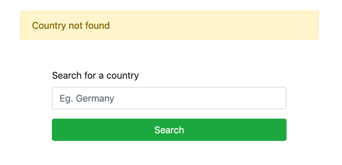 Rest Countries v1 Country does not exist RapidAPI
