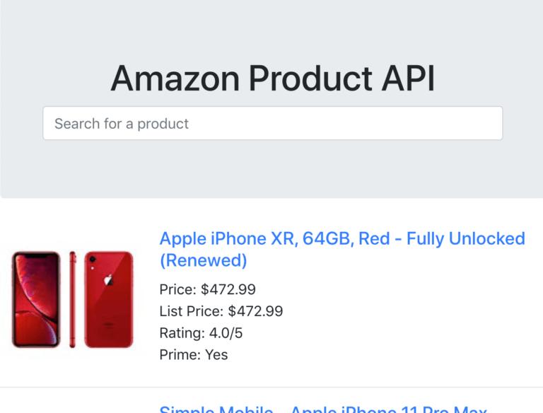 amazon product api