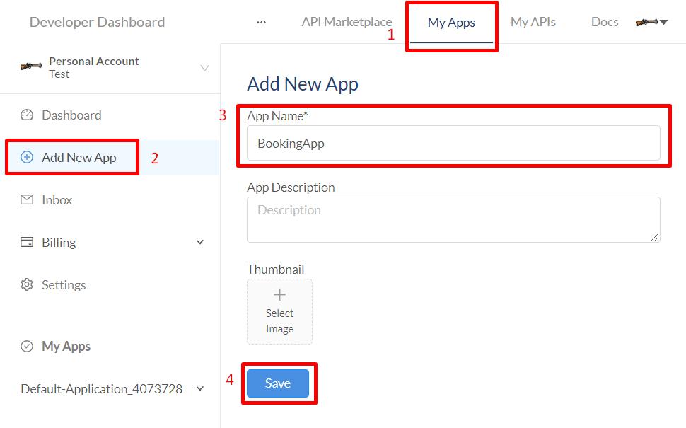 rapidapi user dashboard