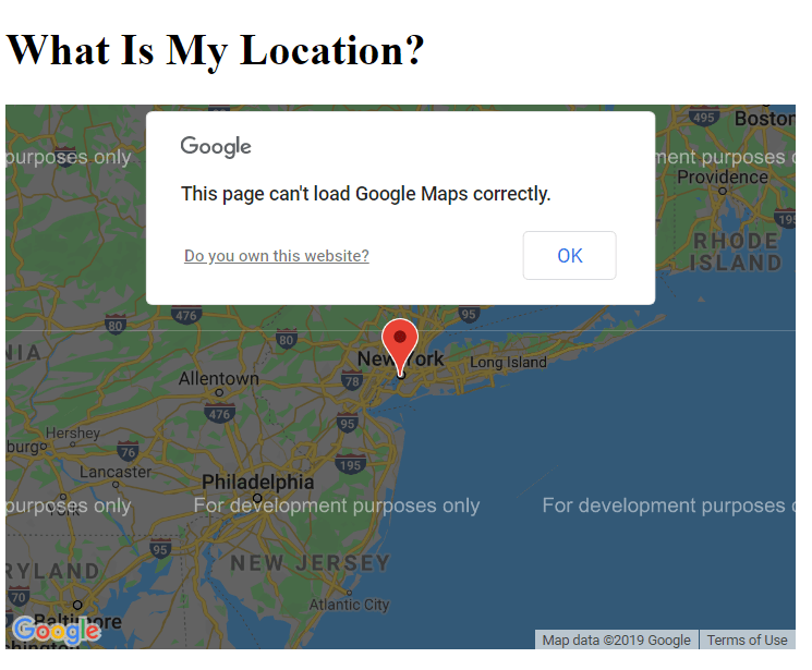 what is my location google maps
