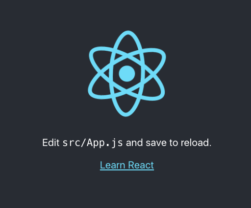 Edit src/App.js and save to reload.