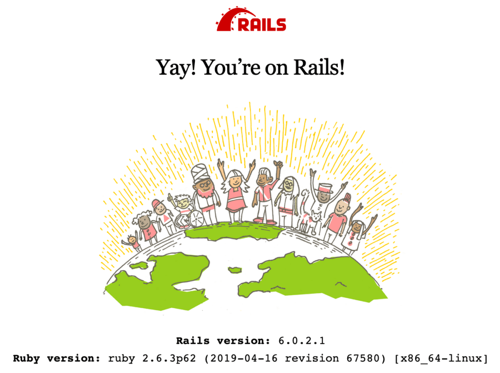You're on Rails