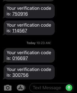 verification code 300756
