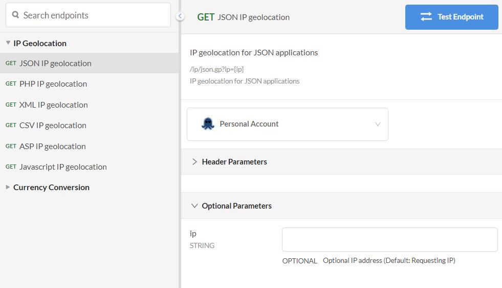 geoPlugin-API-Console-JSON