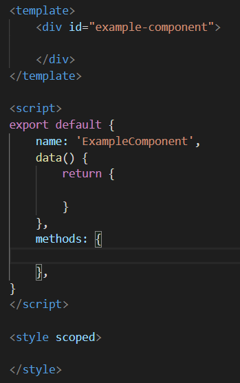 Example Vue Component