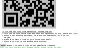 qr-code in terminal