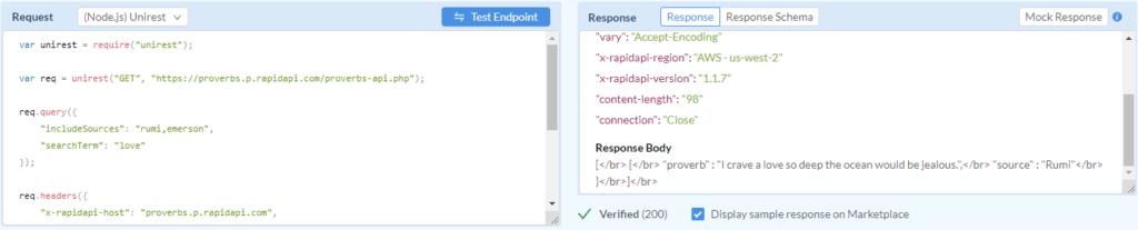 API Endpoint Testing