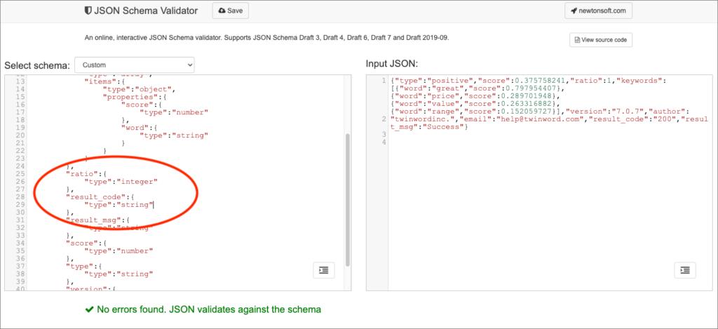 Mitigating schema error.