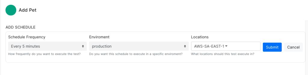 schedule monitoring