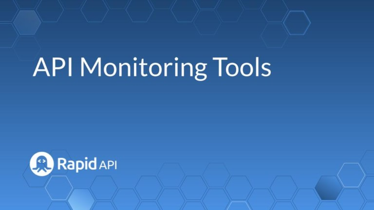 api monitoring tools