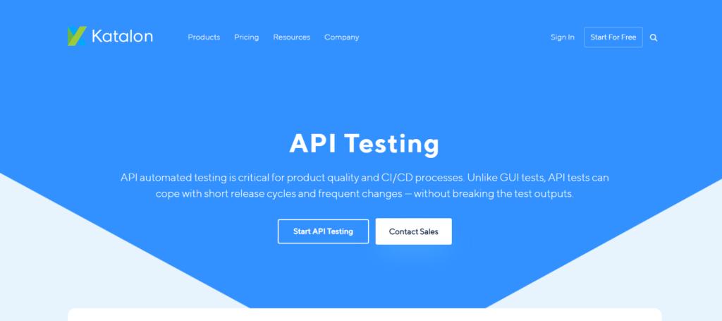 Katalon API Testing