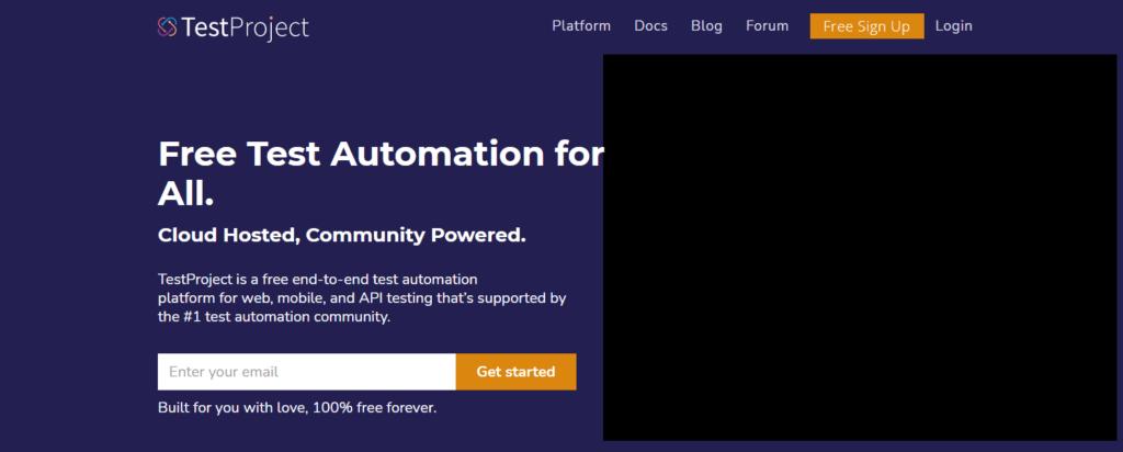 TestProject as API Fortress Alternative