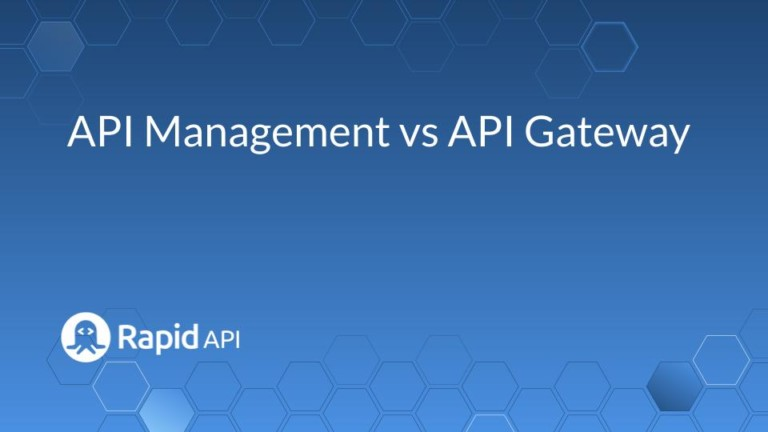 api management vs api gateway