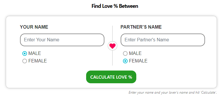 Love Meter - ProKerala