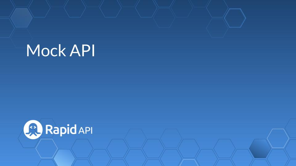 Mock API