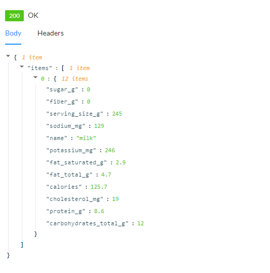 API Response - PHP