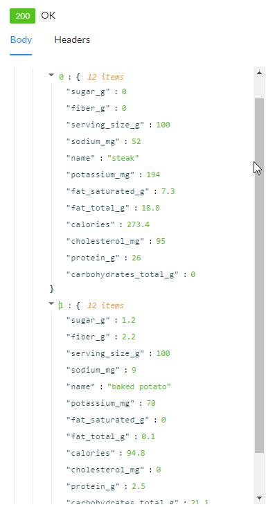 API Response - Javascript