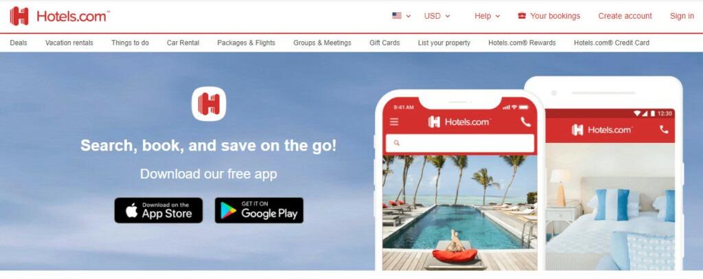 Hotels.com API