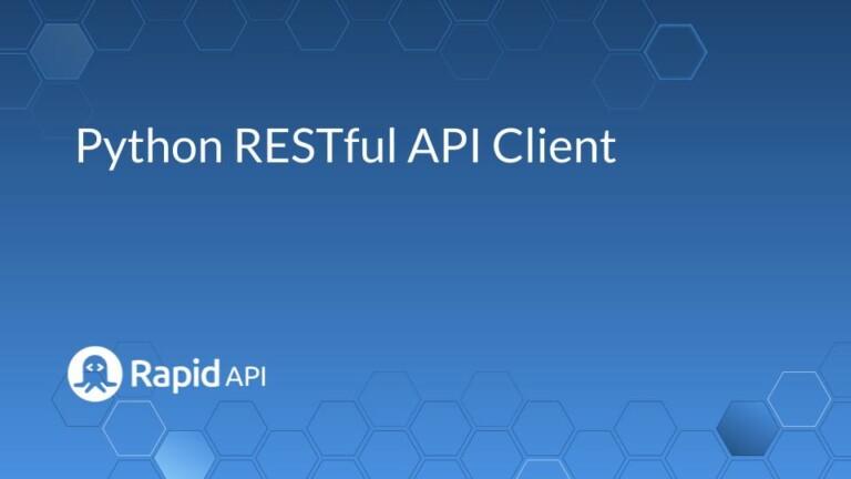 python restful api client