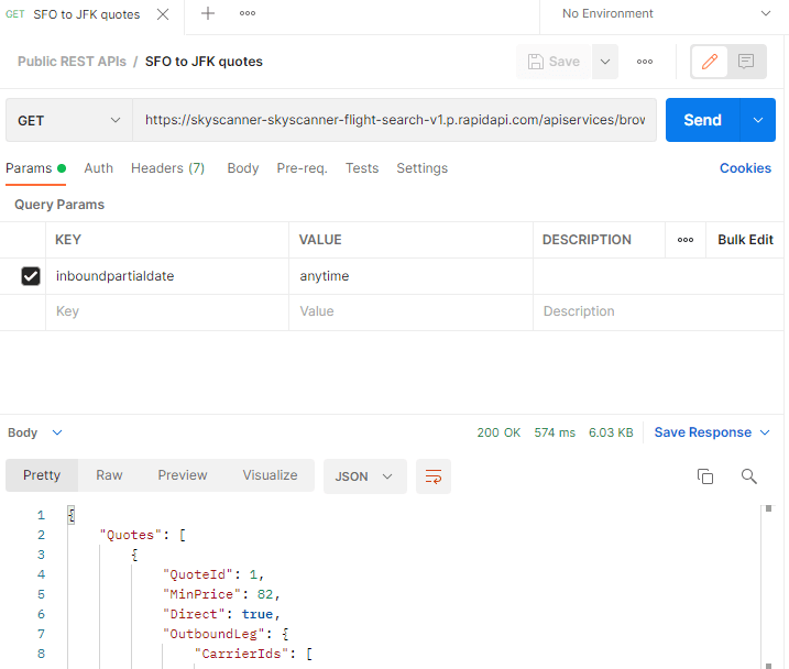 Postman API Client in Browser